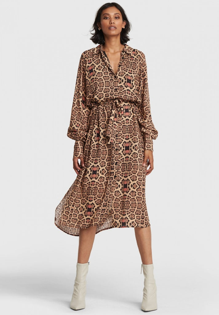 ALIX THE LABEL JAGUAR OVERSIZED BLOUSE DRESS - Your Trends&Brands