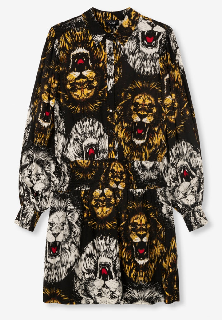 ALIX THE LABEL LION DRESS - Your Trends&Brands