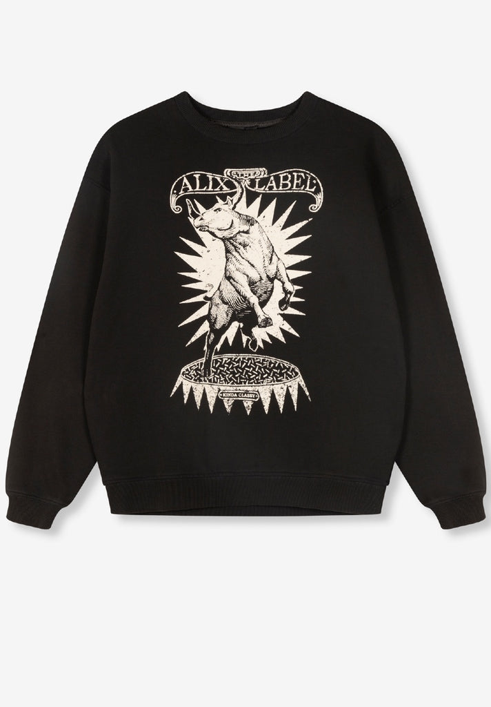 ALIX THE LABEL OVERSIZED BULLSWEATER - Your Trends&Brands