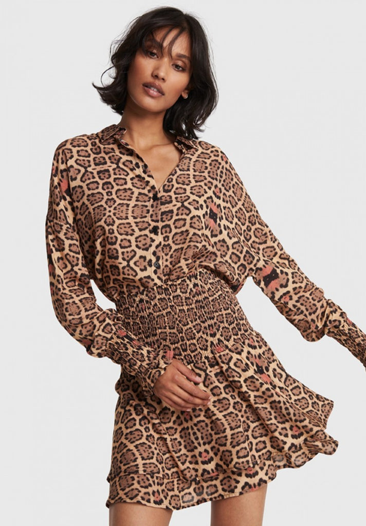 ALIX THE LABEL WOVEN JAGUAR BLOUSE - Your Trends&Brands