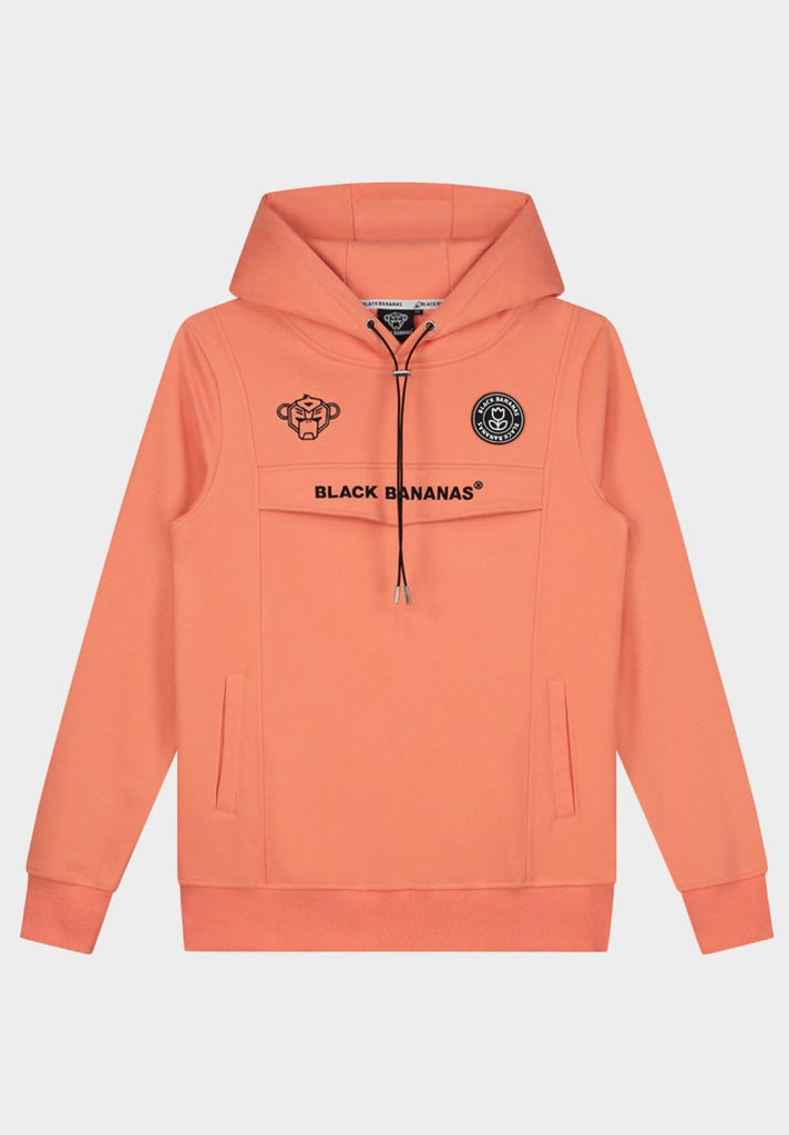 BLACK BANANAS ANORAK HOODY  PEACH - Your Trends&Brands