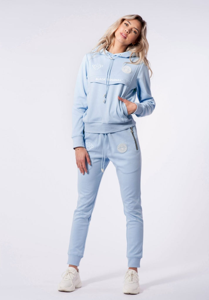 BLACK BANANAS ANORAK TECH TRACKSUIT LIGHT BLUE - Your Trends&Brands