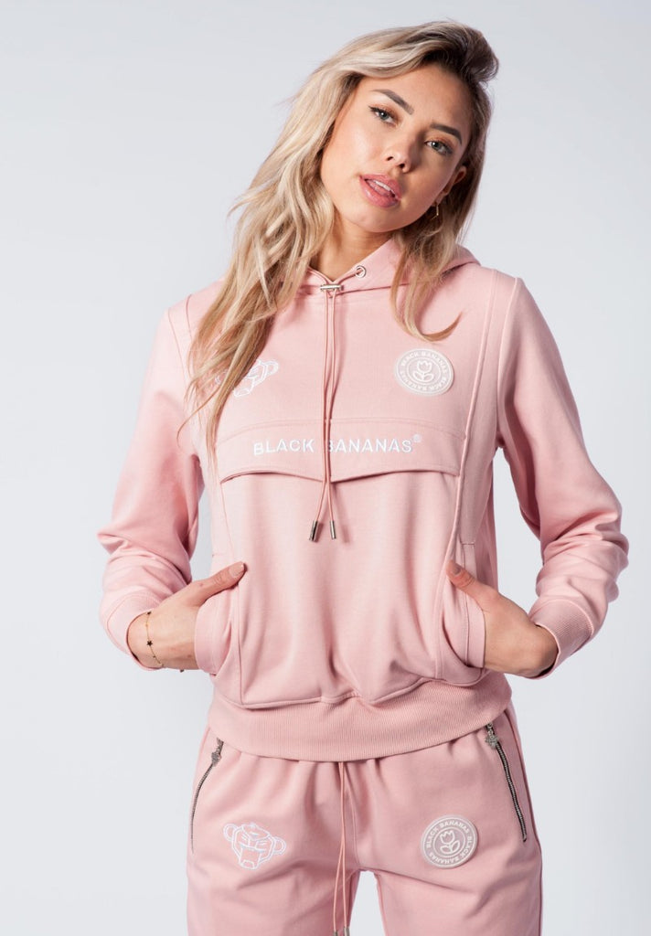 BLACK BANANAS ANORAK TECH TRACKSUIT PINK - Your Trends&Brands