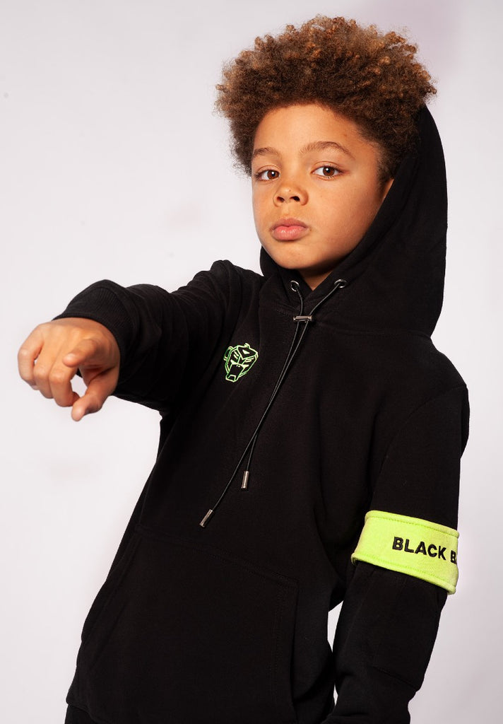 BLACK BANANAS CAPTAIN HOODY BLACK - Your Trends&Brands