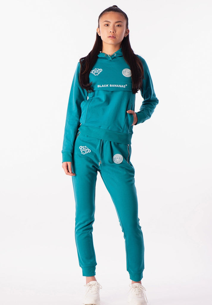 BLACK BANANAS DAMES ANORAK TRACKSUIT BLUE - Your Trends&Brands