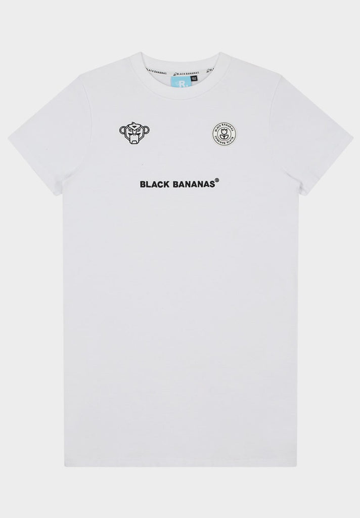 BLACK BANANAS GIRLS DRESS TEE WHITE - Your Trends&Brands