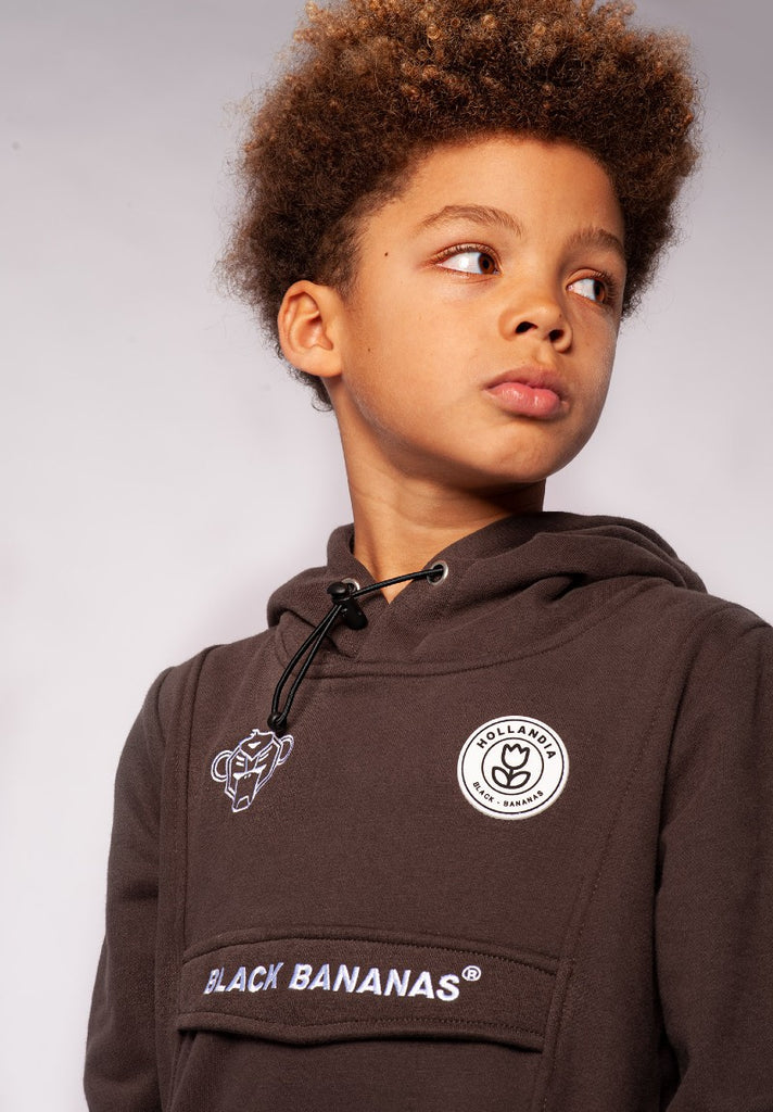 BLACK BANANAS KIDS ANORAK HOODY GREY - Your Trends&Brands
