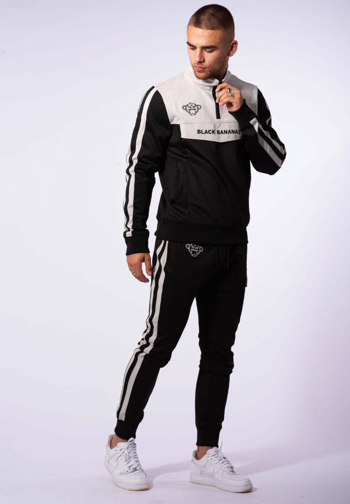 BLACK BANANAS SPRINT TRACKSUIT BLACK/GREY - Your Trends&Brands