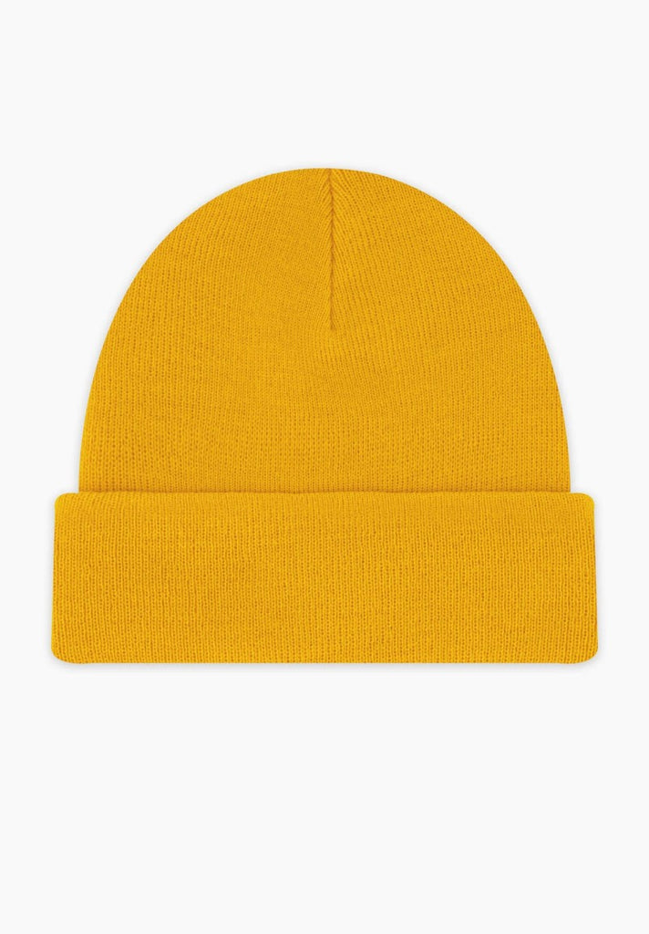 CHAMPION BEANIE YELLOW - Your Trends&Brands