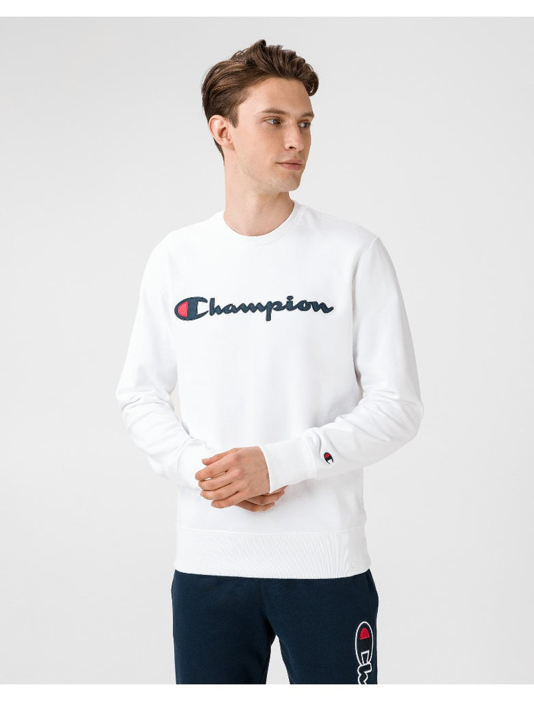 CHAMPION SWEATSHIRT WHITE - Your Trends&Brands