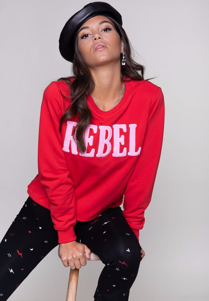 COLOURFUL REBEL REBEL BASIC SWEAT - Your Trends&Brands