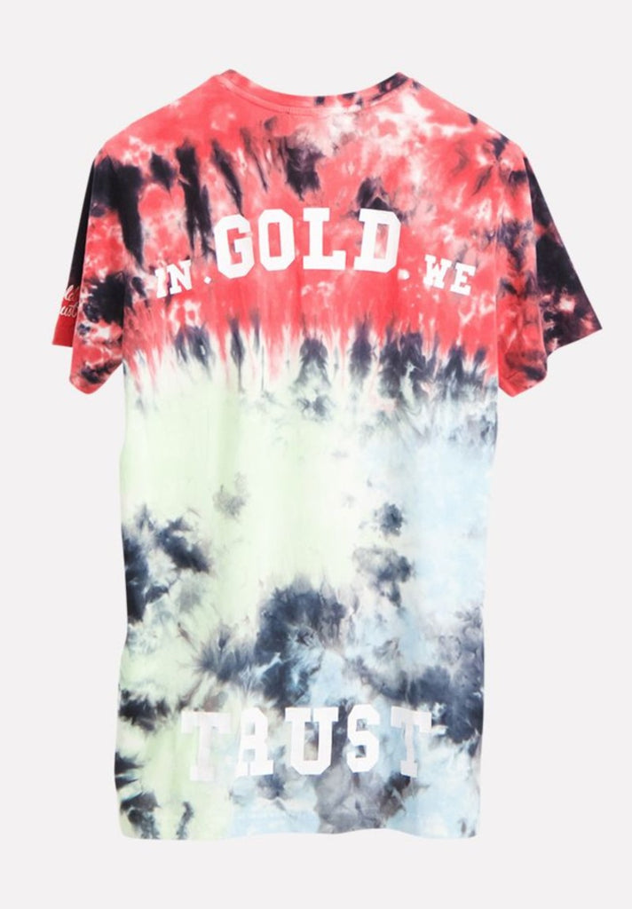 IN GOLD WE TRUST KIDS TIE DYE T-SHIRT - Your Trends&Brands
