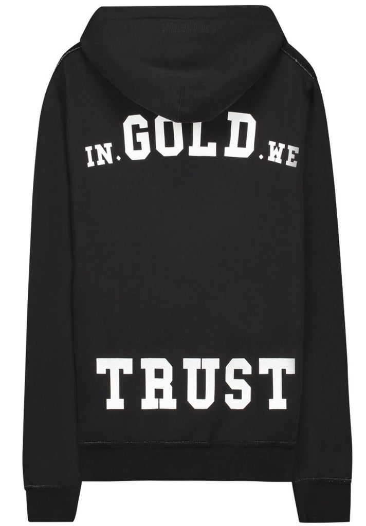 IN GOLD WE TRUST THE REAKWON HOODY BLACK - Your Trends&Brands
