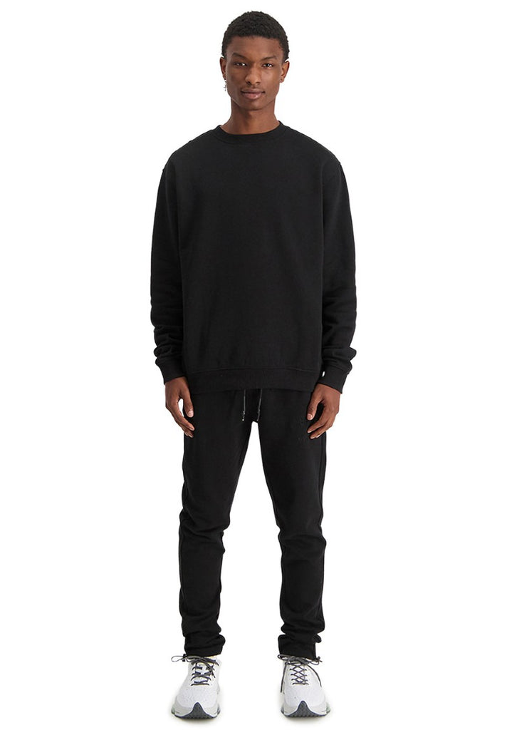 IN GOLD WE TRUST THE TAKEOFF SWEATER BLACK - Your Trends&Brands