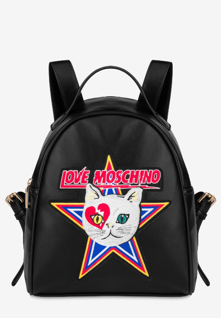 LOVE MOSCHINO CATCH THE CAT BACKPACK - Your Trends&Brands