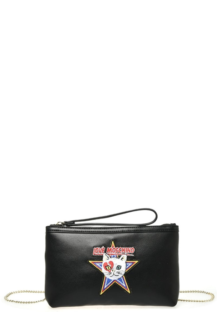 LOVE MOSCHINO CATCH THE CAT CROSSBODY BAG - Your Trends&Brands