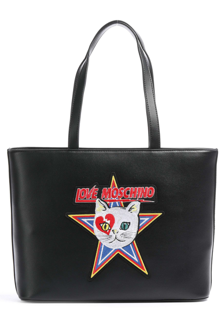 LOVE MOSCHINO CATCH THE CAT SHOPPER - Your Trends&Brands