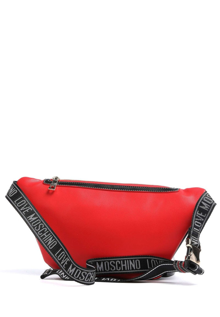 LOVE MOSCHINO GLITTER HEART FANNY PACK - Your Trends&Brands