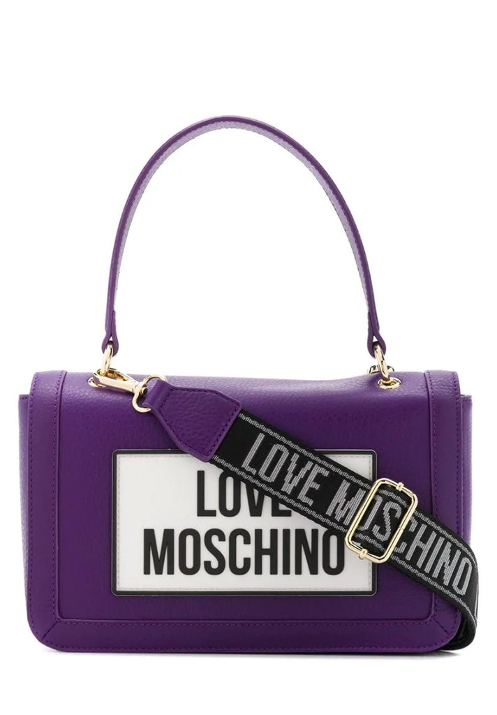 LOVE MOSCHINO LOGO PATCH BAG - Your Trends&Brands