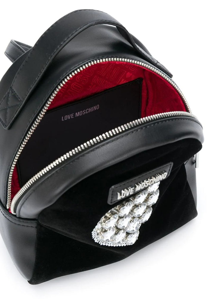 LOVE MOSCHINO SEQUINS HEART BACKPACK - Your Trends&Brands