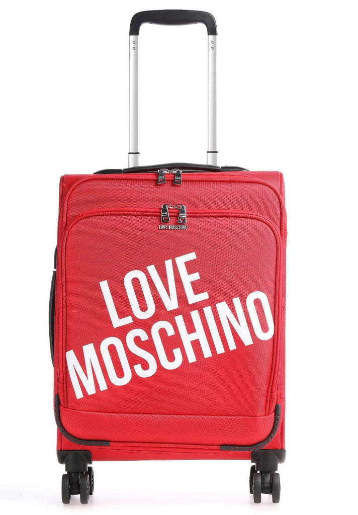 LOVE MOSCHINO TROLLEY  RED - Your Trends&Brands