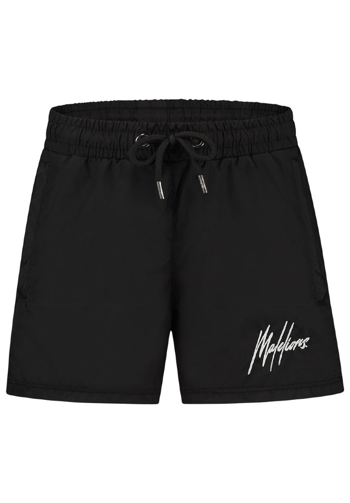 MALELIONS KIDS FRANCISCO SWIMSHORT BLACK - GLOW IN THE DARK - Your Trends&Brands