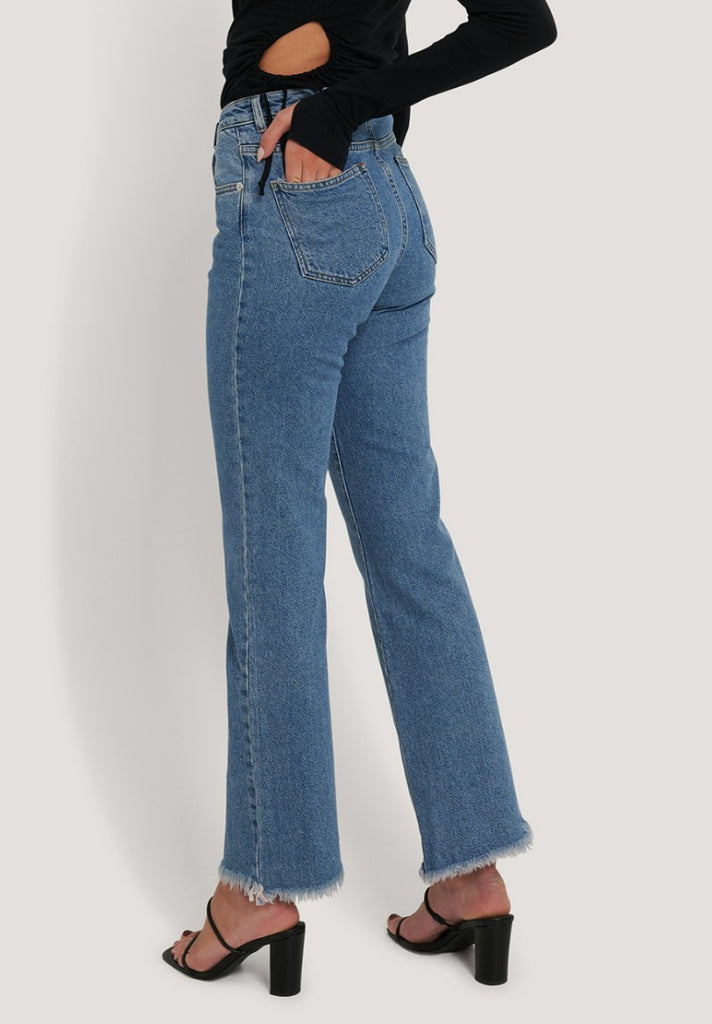 NA-KD RELAXED BOOTCUT JEANS - Your Trends&Brands