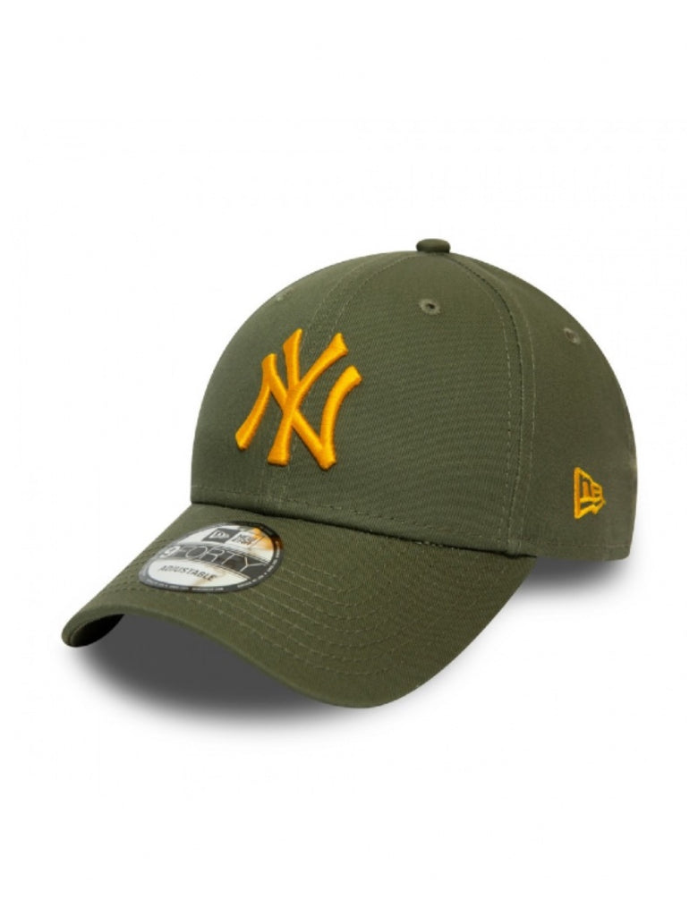 NEW ERA CAP NEW ERA BASIC ARMY/YELLOW - Your Trends&Brands