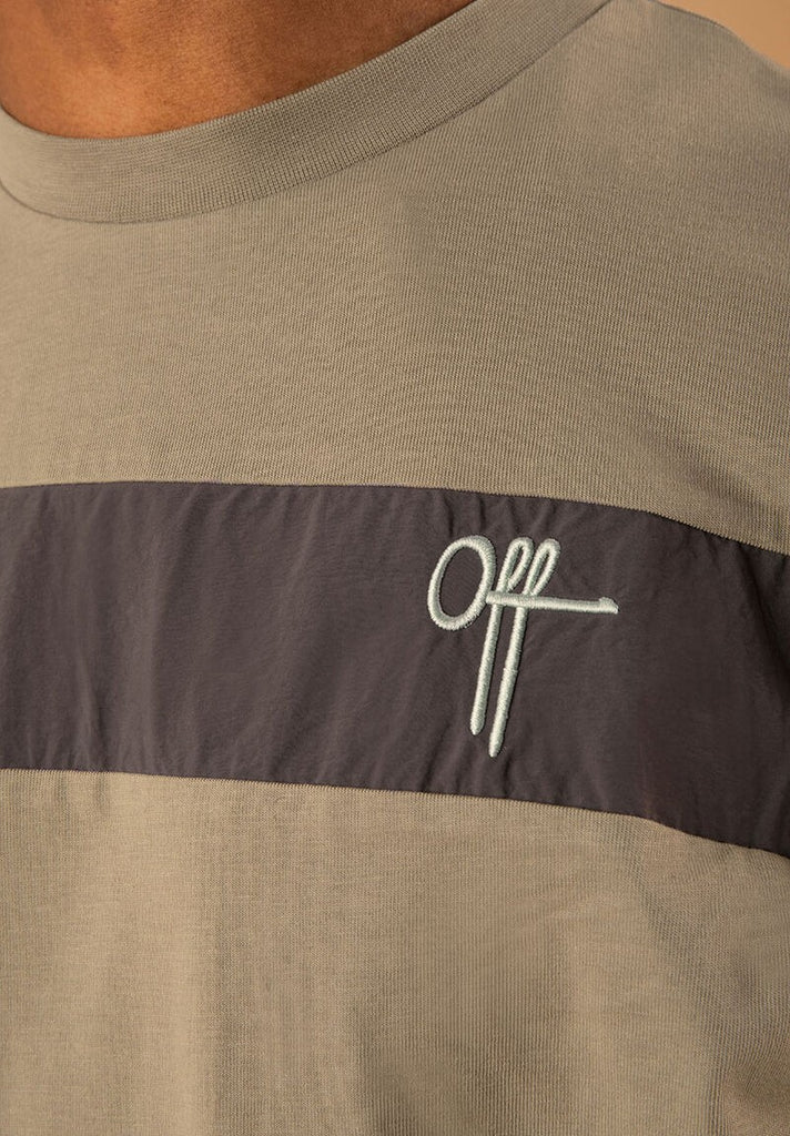 OFF THE PITCH THE COMET REGULAR TEE GREEN - Your Trends&Brands