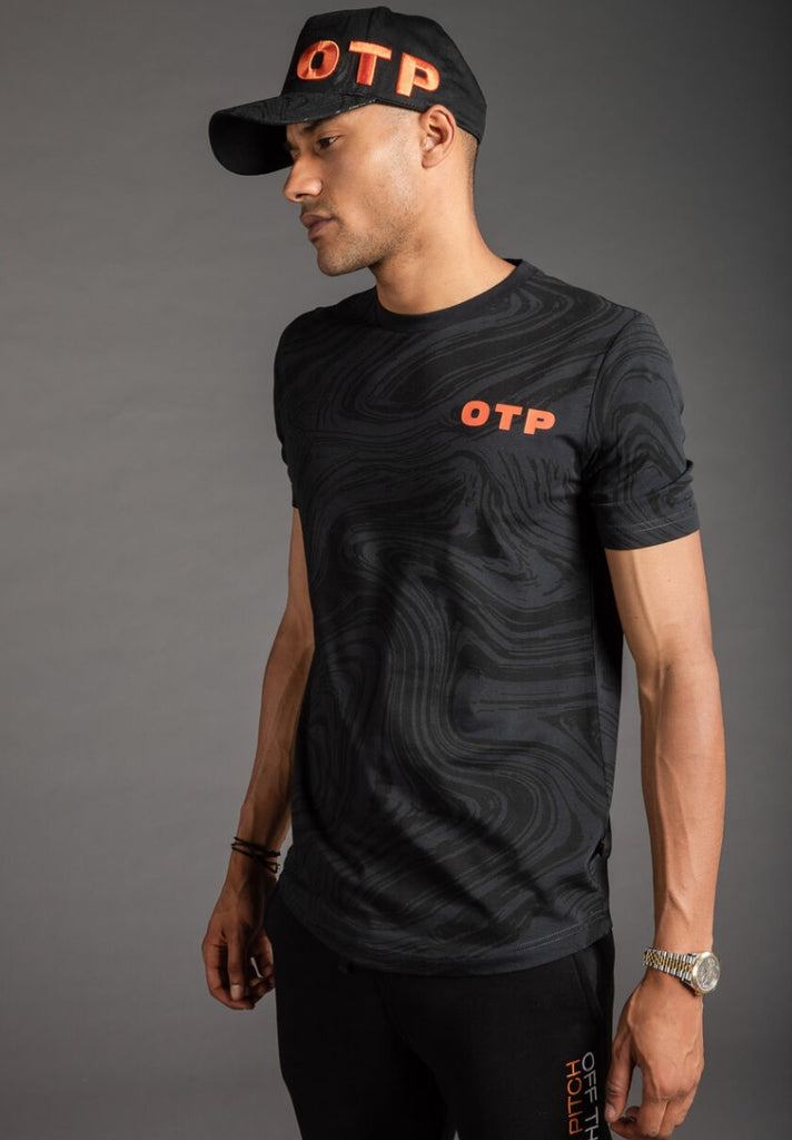 OFF THE PITCH THE SELF TEE BLACK - Your Trends&Brands