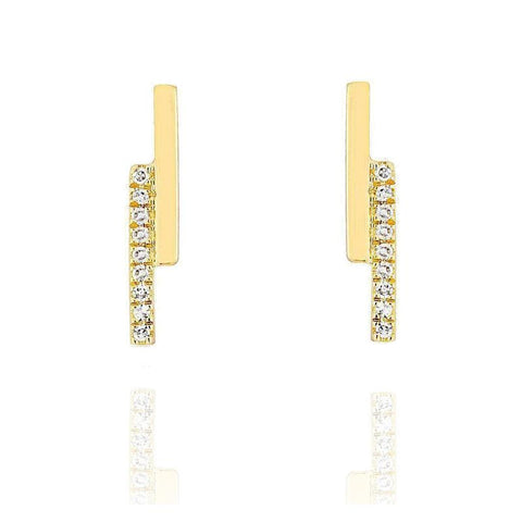 Diamond Ridge Earrings
