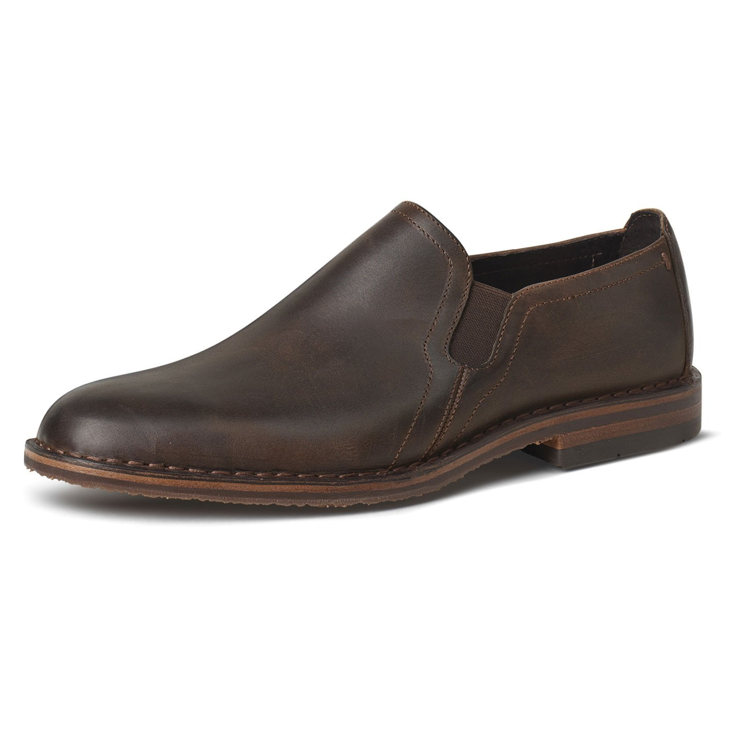 Men's Blaine Plain Toe Gore Loafer - Oak Hall