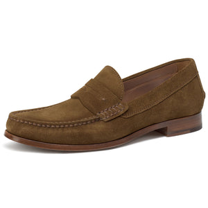 Men's Sadler Suede Penny - Oak Hall