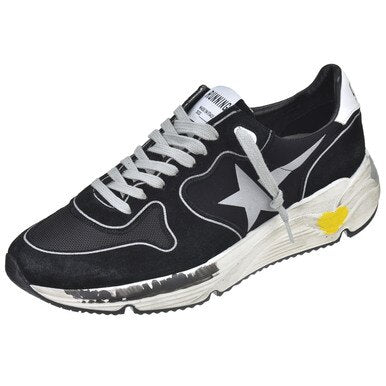 Men's Running Sole Black Trainer