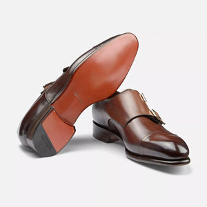 Ira Double Monk Cap Toe