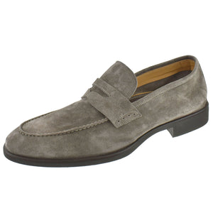 SC524 Suede Penny Loafer