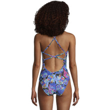 Load image into Gallery viewer, Womens's Printed Double X Back One Piece