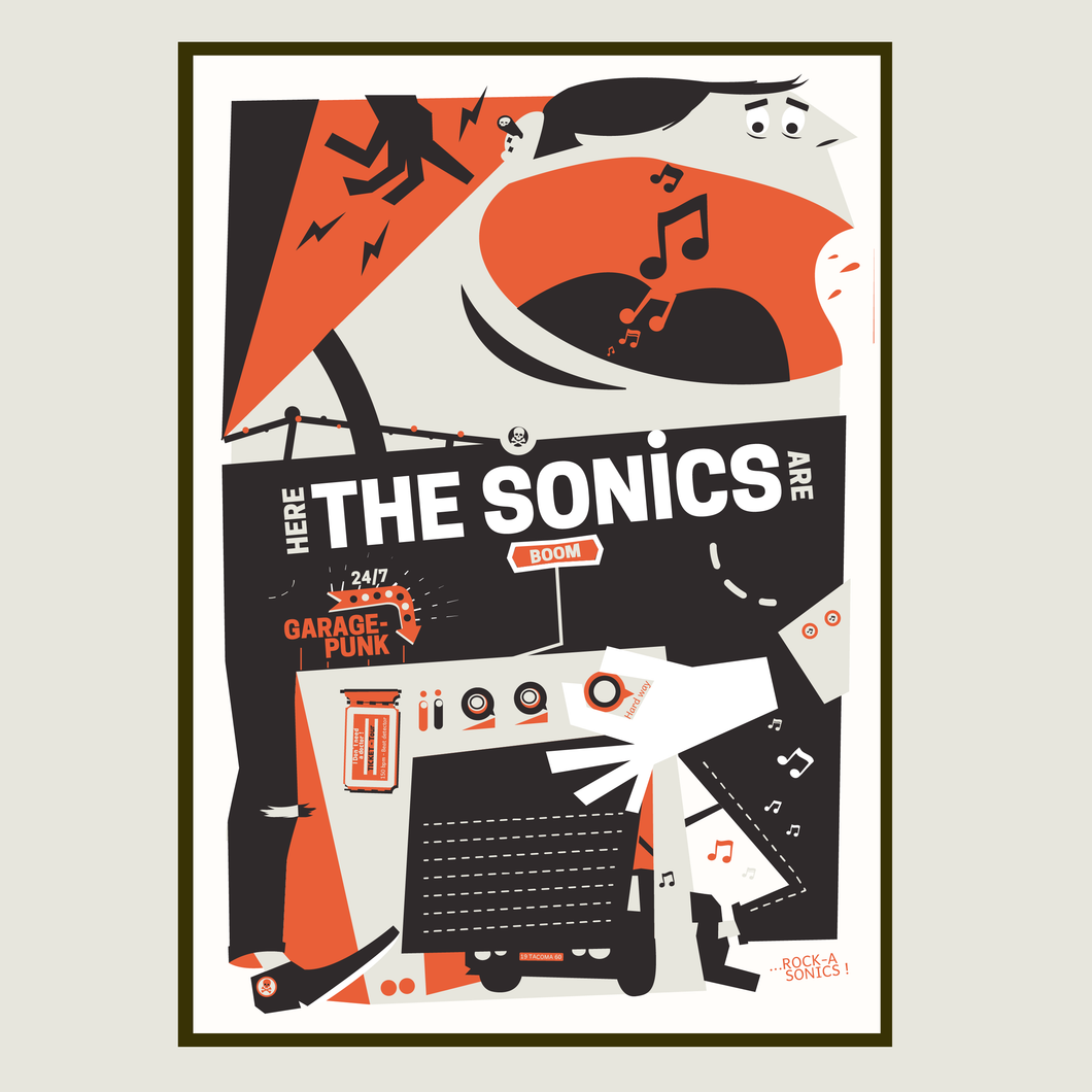 THE SONICS - Garage Punk series -Atelier Fwells