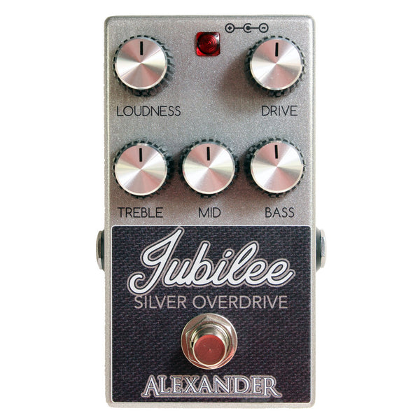 Alexander Pedals - Jubilee Silver
