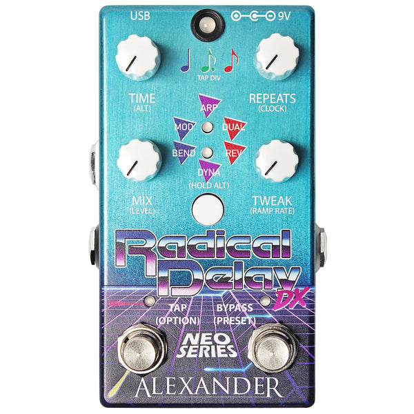 Alexander Pedals - Radical Delay DX