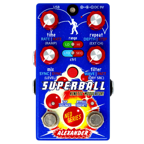 Alexander Pedals - Superball Kinetic Modulator!