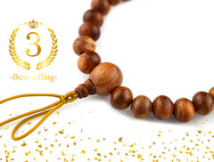 7mm Keyaki Wood Bracelet 3 Sizes