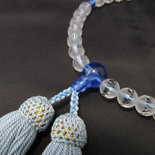 Charger l'image dans la galerie, Frosted Crystal Opaque Quartz &  Gemstone Juzu Prayer beads for Women 5 Types - 京都あさひ屋-Kyoto Asahiya
