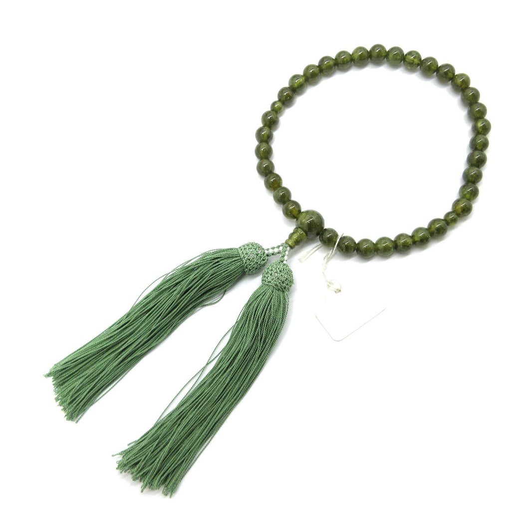 Green Garnet Juzu Prayer beads Japanese Juzu - 京都あさひ屋-Kyoto Asahiya