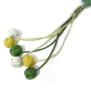 Indian jade Aventurine Juzu Prayer beads with Tassel