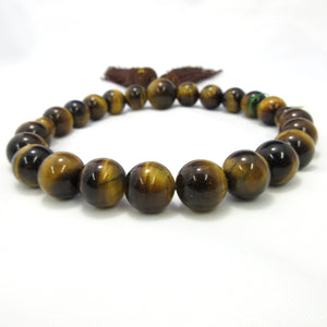 10mm Brown Tiger Eye Juzu Prayer beads