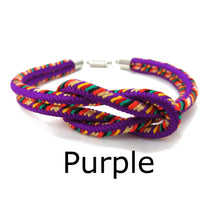 Load image into Gallery viewer, Kumihimo Bracelet Purple
