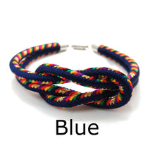 Load image into Gallery viewer, Kumihimo Bracelet Blue