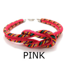 Load image into Gallery viewer, Kumihimo Bracelet Pink