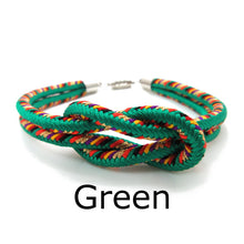 Load image into Gallery viewer, Kumihimo Bracelet Green